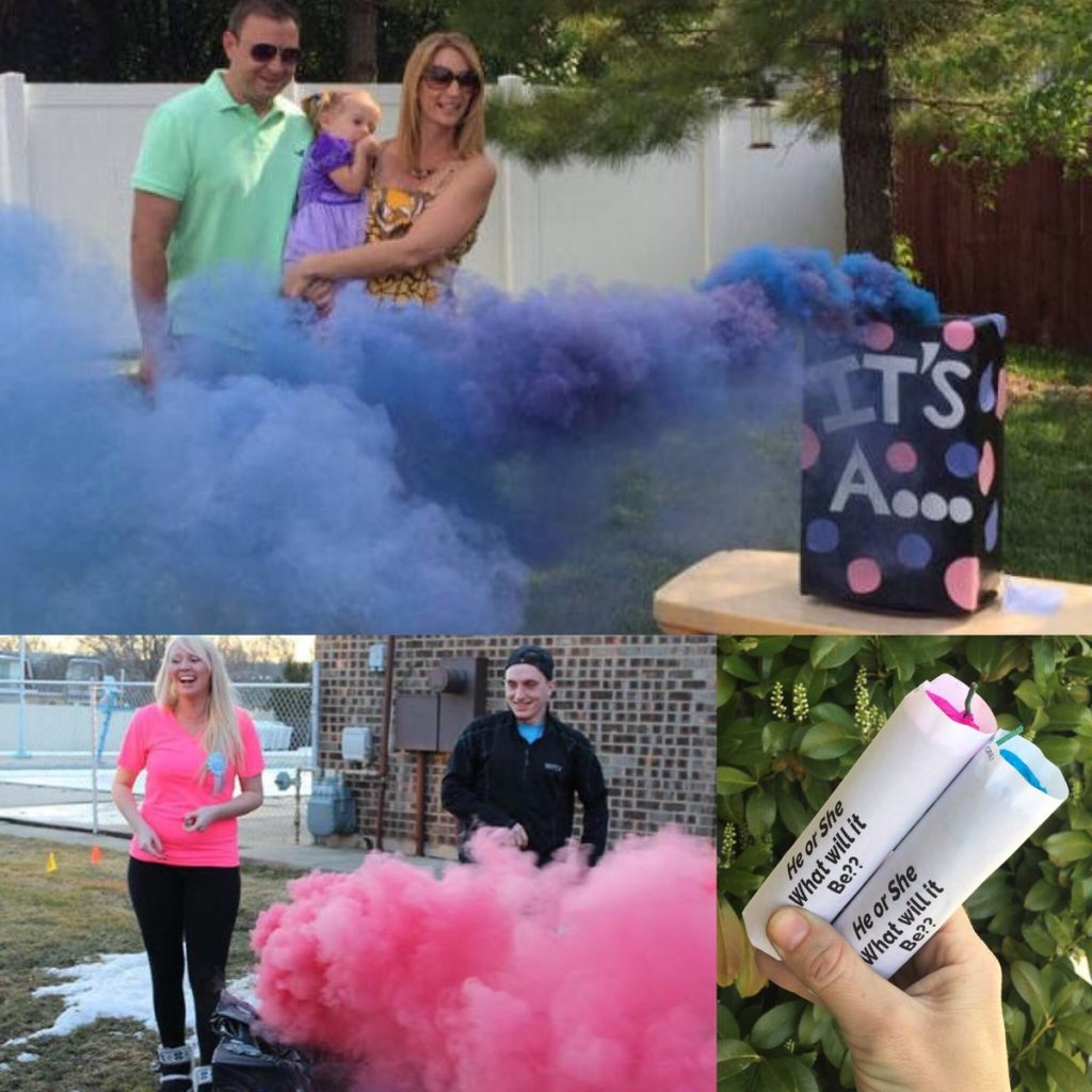 Gender Reveal Smoke Bombs Archives - Smoke Fountains